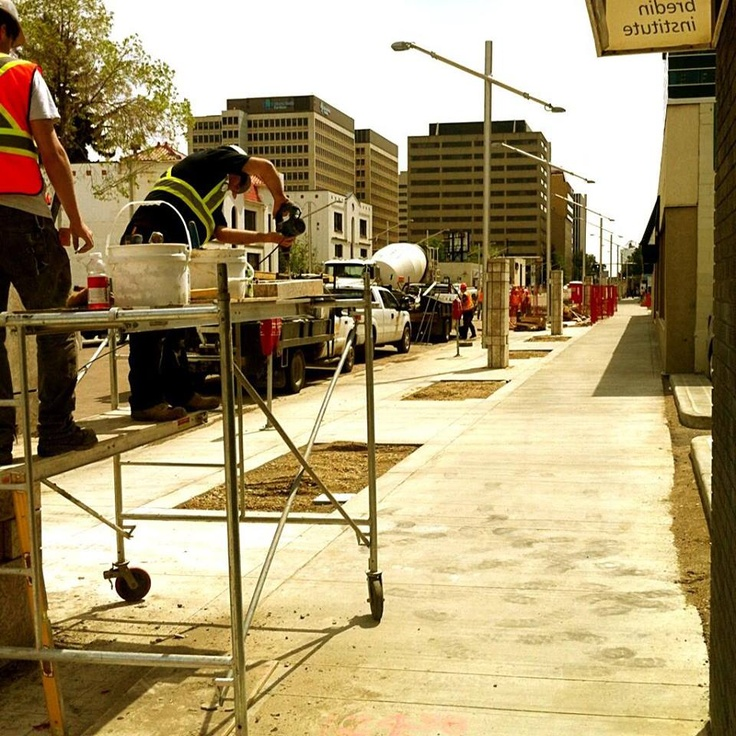 108 Street is getting a facelift - now Capital Blvd - can't wait until it is complete!