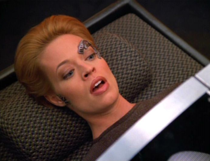 Trek Voyager Dating Star Nine Seven Of
