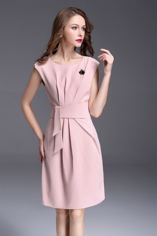ITCQUALITY 2017 WOMEN SUMMER STYLE PARTY COCKTAIL FASHION DRESS O-NECK ITC1114.