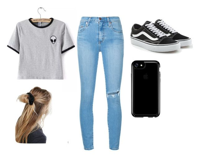 """ufo"" by jevangeline on Polyvore featuring Nobody Denim, Vans, Speck, ASOS, vans, fashionable, aliens and UFO"