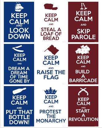Mostly for R's keep calm, because Grantaire you should *probably* put that bottle down    Awwww, wait.