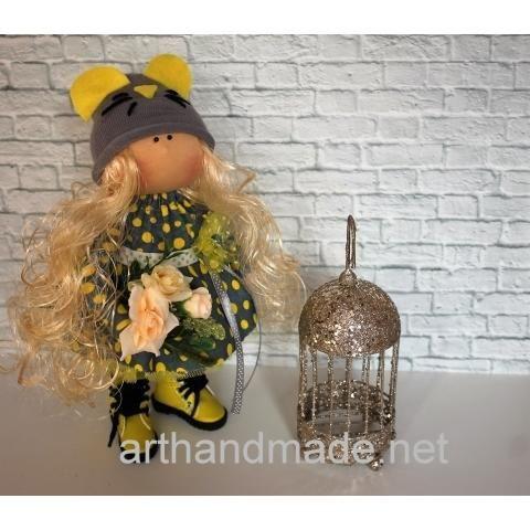 "Textile doll ""Mouse-norushka"". Author Solovyova Olesya - http://arthandmade.net/soloveva.olesya  Doll, textile doll, interior doll, handmade doll, gift, original gift, handmade, craft, collection, interior, Gallery Magical World, кукла, купить куклу, текстильная кукла, интерьерная кукла, кукла ручной работы, подарок, оригинальный подарок, ручная работа, интерьер, коллекция, Галерея Волшебный мир"