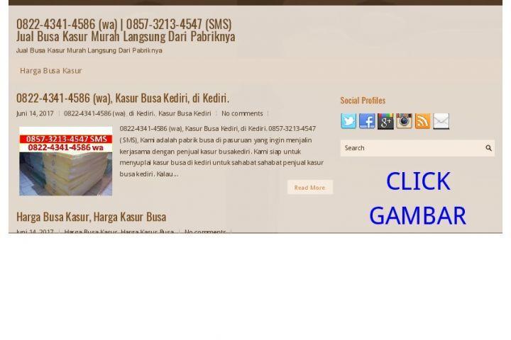 0857-3213-4547 (sms) jualbusa kasur murah