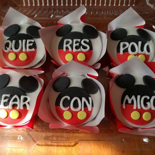 #maryscupcake #rancagua #chile🇨🇱 #cupcakeslovers #cupcakespersonalizados #mickeymousse #love #amor❤ #follow4follow #instachile