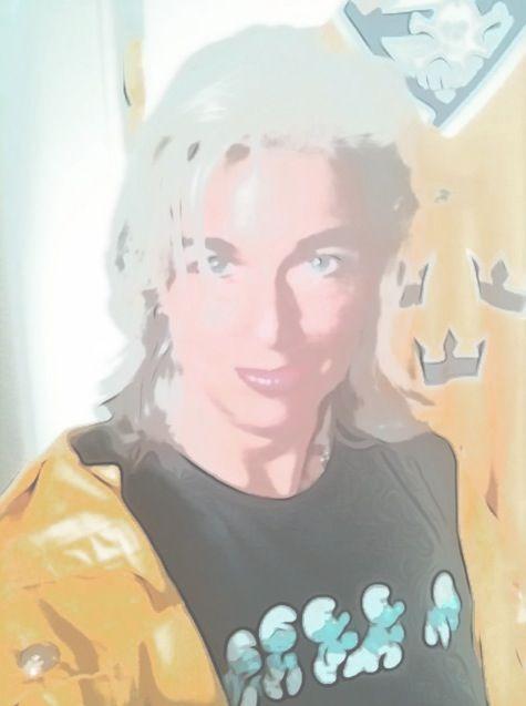 Mirjam van Zweden blå gul