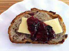 Blueberry Rhubarb Jam (Bluebarb Jam) - CravingSomethingHealthy.com