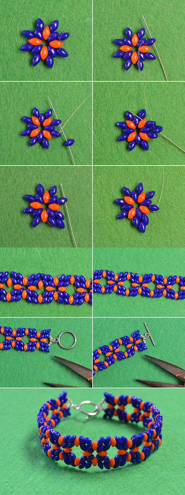 Wanna the 2-hole seed beads bracelet? LC.Pandahall.com will share us the…