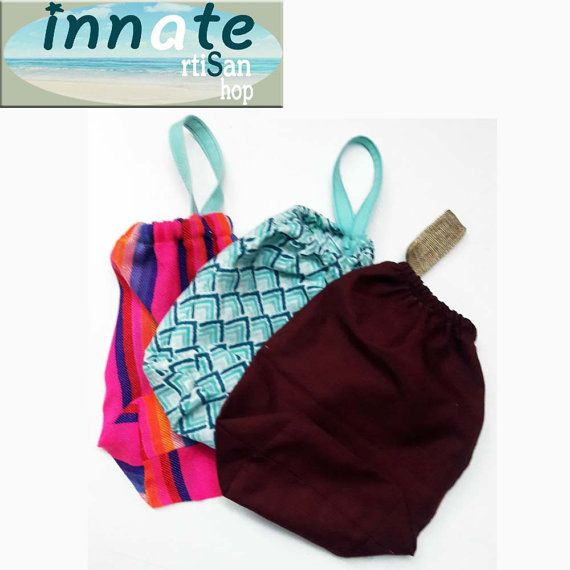 Hair dryer and Toiletry Storage bag by InnateArtisanShop on Etsy