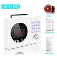 Кр 6120 г цифровой дисплей часов 120 зон GSM сигнализация, Gsm сигнализация, Системы охранной сигнализации, Датчик двери