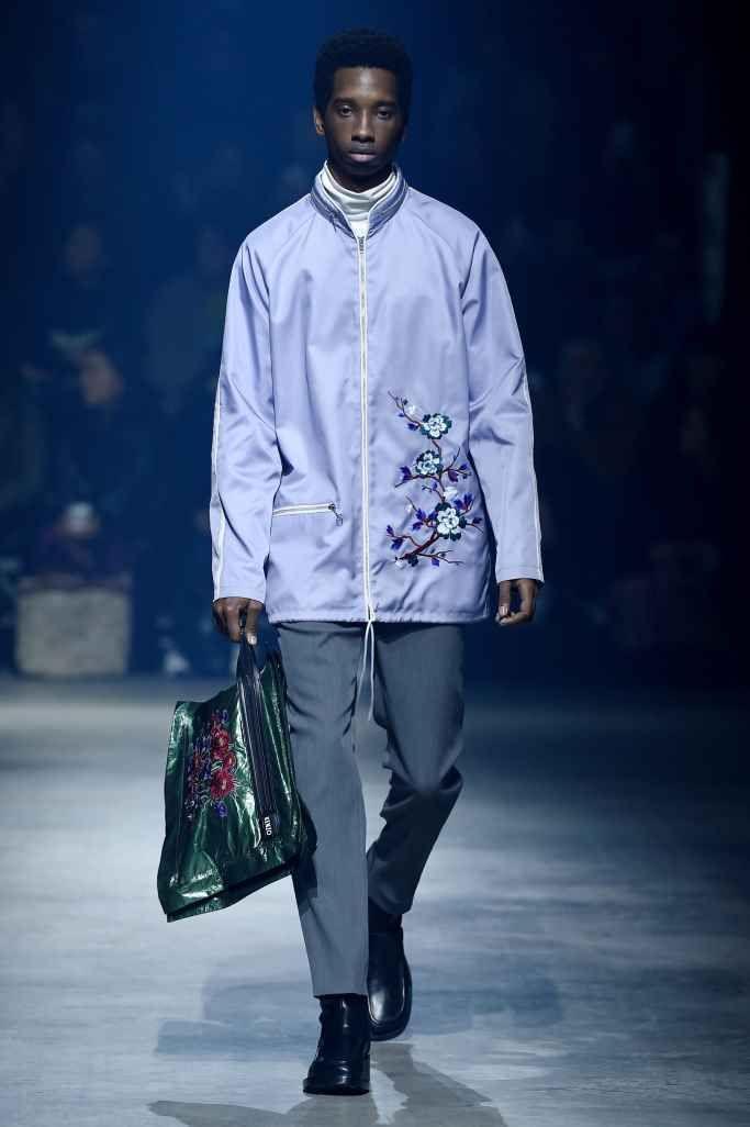 Male Fashion Trends: Kenzo Fall-Winter 2018-2019 | Paris Fashion Week