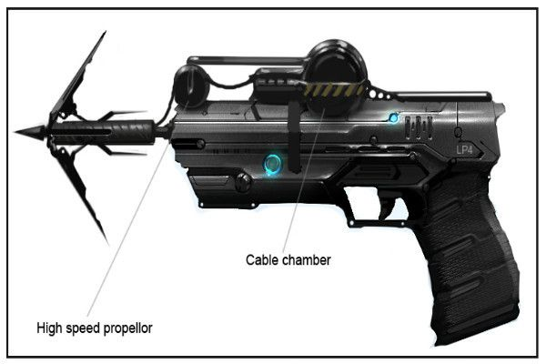 The Grapple Gun & Hook - 15 Real-Life Gadgets to Make You Into ...