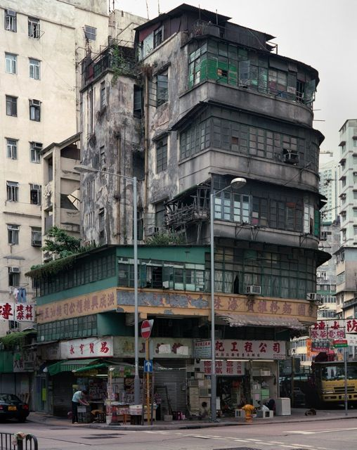 Love these old walk ups ... shame most are being knocked down. PHOTOGRAPHY – Michael Wolf's Hong Kong Cornerhouses | Hong Wrong Hong Kong Expat Blog