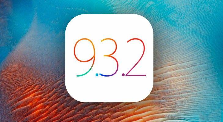 APPLE LIBERA EL iOS 9.3.2