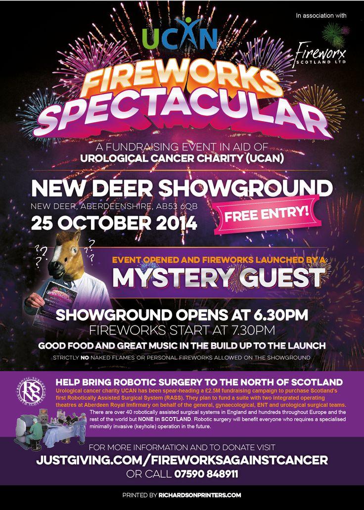 2014 UCAN Charity Fireworks Spectacular Poster Design – by James Kontargyris