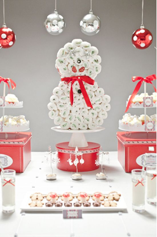 Baby Shower Themes December ~ Fabulous christmas themed baby shower ideas