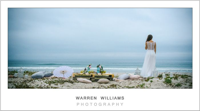SA Weddings, styled beach shoot