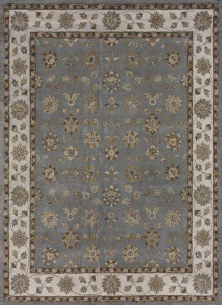 South Shore Decorating: Loloi Rugs MAPLMP-38BB Maple Blue-Beige Traditional Hand Tufted Rug LLR-MAPLMP-38BB
