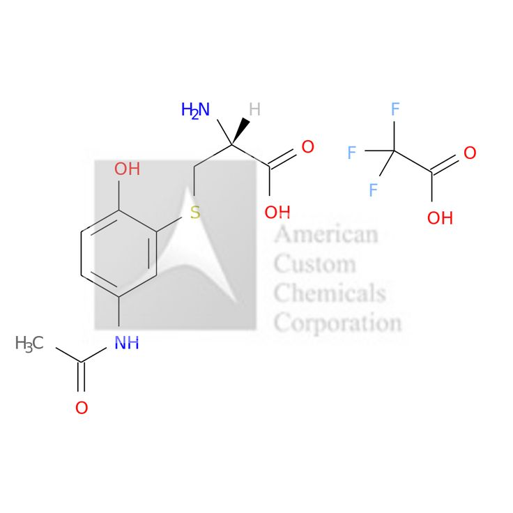 3-CYSTEINYLACETAMINOPHEN TRIFLUOROACETIC ACID SALT is now  available at ACC Corporation