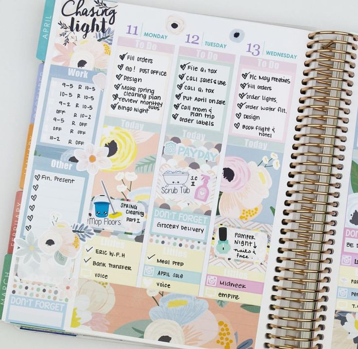 240 best decorated planner page inspiration images on Pinterest ...