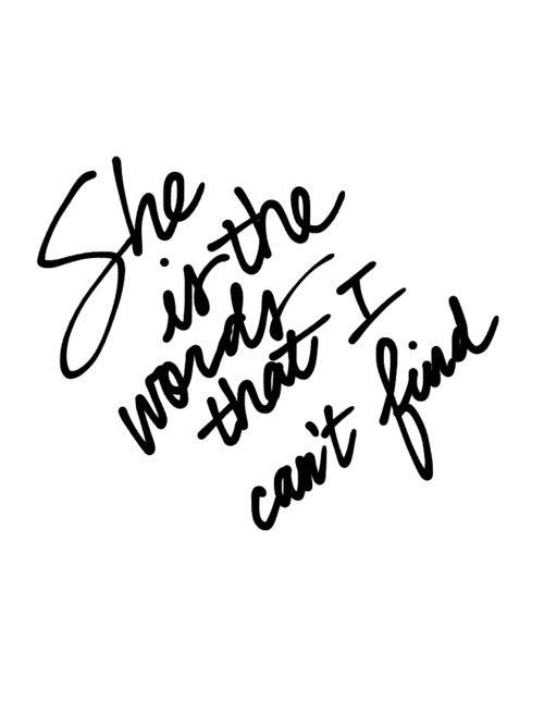 Parachute - She (For Liz) lyrics