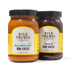 Give meat, fish, even tofu a barbecue makeover by brushing on one of these exotic all-natural sauces from a mother-daughter duo.: Gifts Ideas, Kickass Sauce