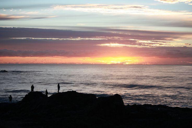 Dawn on the east coast of Australia