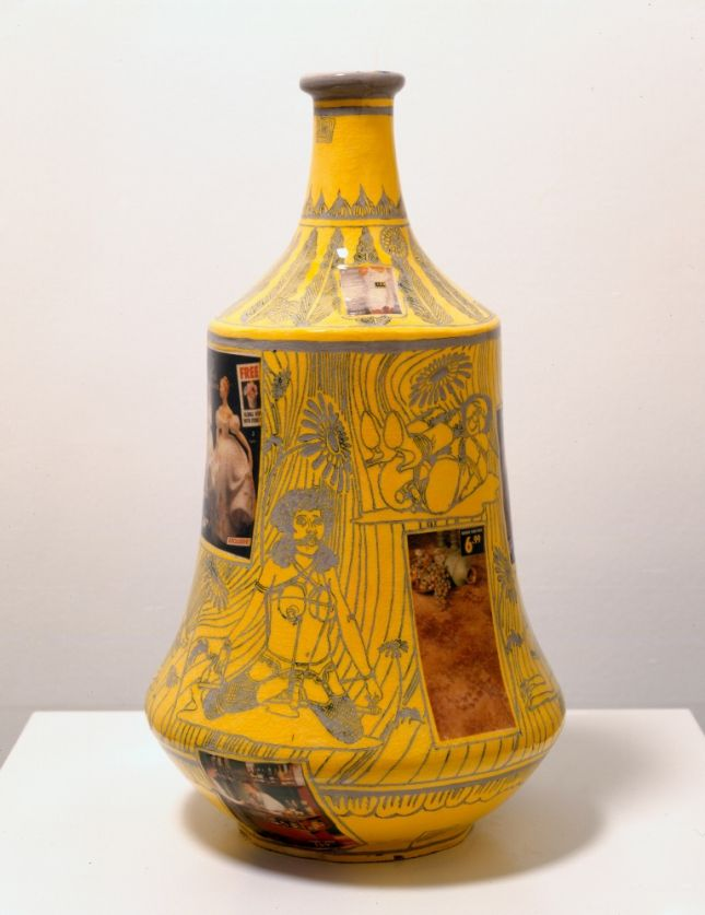 Grayson Perry, Good and Bad Taste, 2007, Glazed ceramic, 57 x 31 cms, 22.46 x 12.21 inches