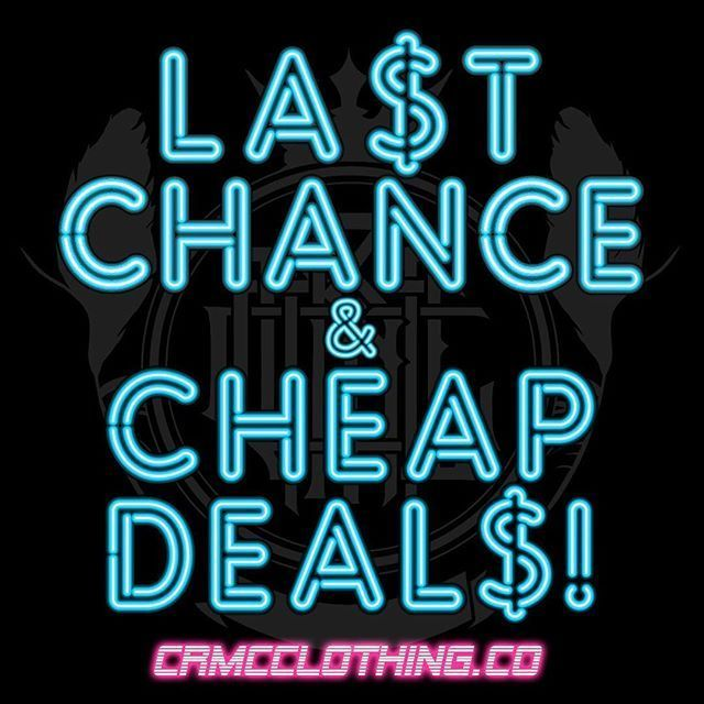 Loads of items have been added to our CRMC SALE selection ✌️ It's your last chance on many of these products - Once they're gone, they are gone! Shop now at www.crmcclothing.co | WE SHIP WORLDWIDE #alt #altwear #altfashion #altstyle #alternative #alternativefashion #alternativestyle #fashion #CRMC #crmcclothing #fashionstatement #fashionista #lastchance #cheapdeals #dailyfashion #springfashion #spring #deals #springdeals #streetwear #streetwearclothing #Crows #Ravens #branding