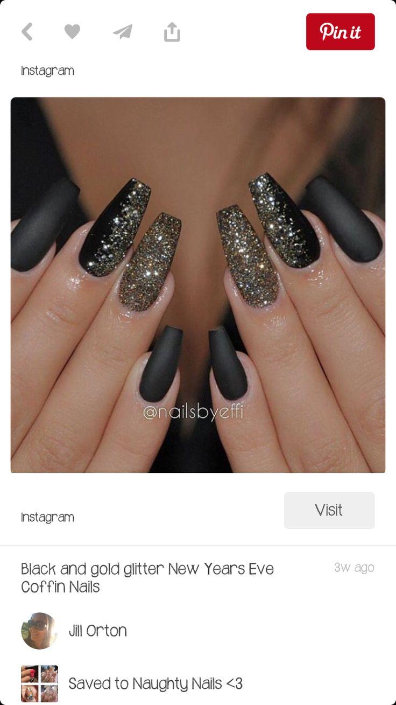 Side swiped by glitter