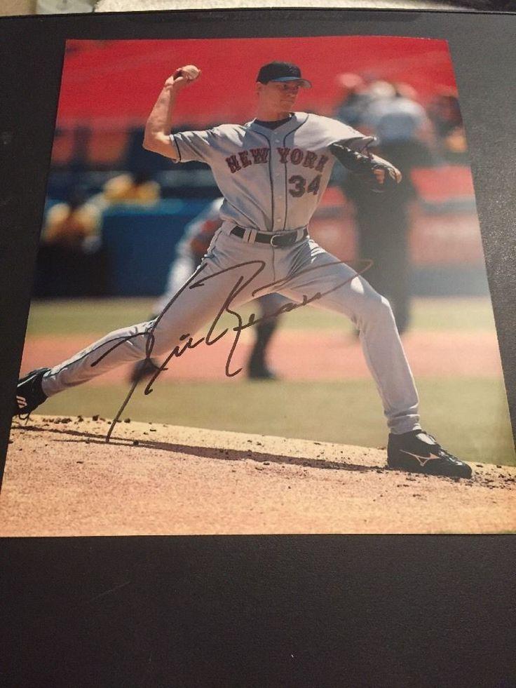 Kris Benson New York Mets Autographed Photo Pirates Orioles