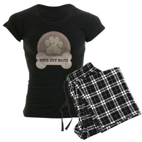 Personalized Dog Lover Pajamas on CafePress.com