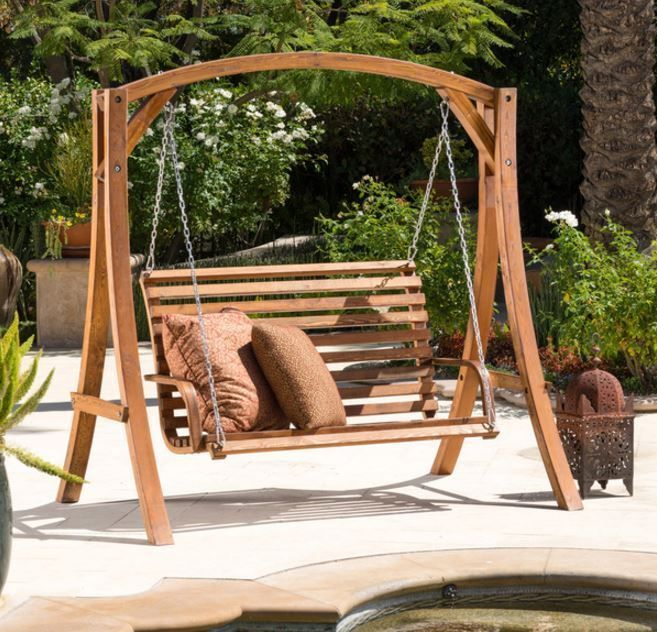 Hanging Chair Loveseat Fold Out Best 25+ Outdoor Swings Ideas On Pinterest | Patio Swing, Patios And Swing Sets