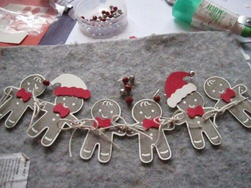 Cookie Cutter Christmas stamp set; Cookie Cutter Builder Punch; Stampin' Up!