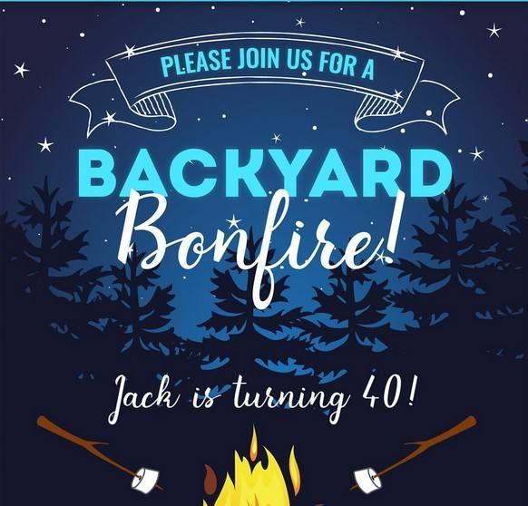 Free Bonfire Camping Backyard Invitation Template Birthday Party Invitations Free Free Printable Birthday Invitations Bonfire Party Invitations