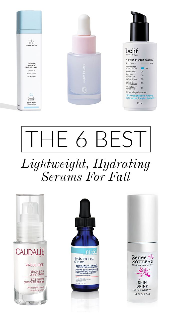 Prep Your Skin For Fall With These Lightweight (and Hydrating!) Serums | Glitter Guide
