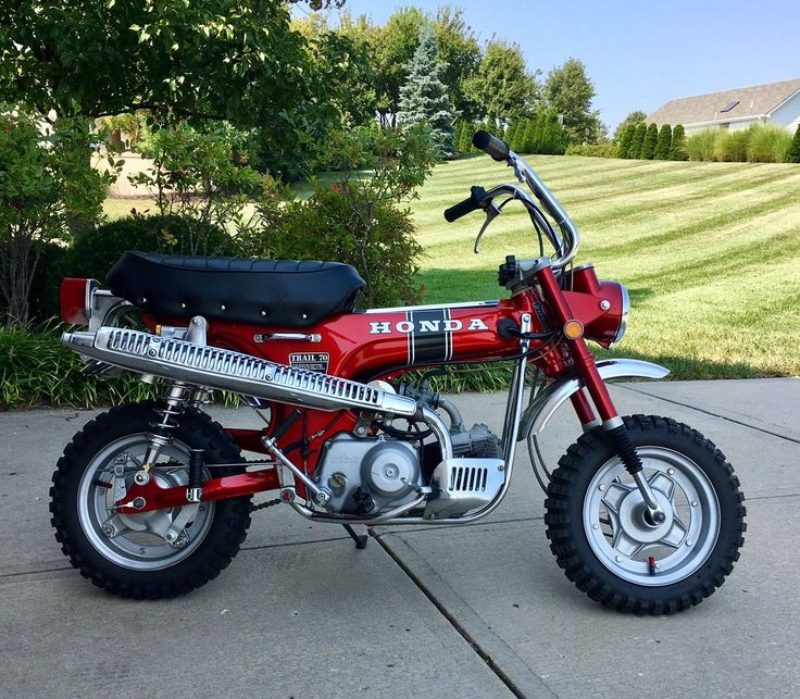 Nice Awesome 1970 Honda CT 1970 Honda CT70 CT 70 2017/2018