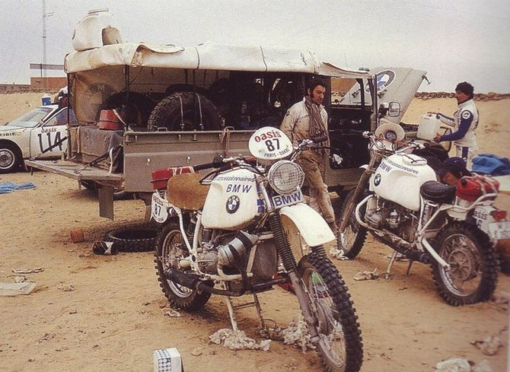 BMW Team - Paris Dakar 1980