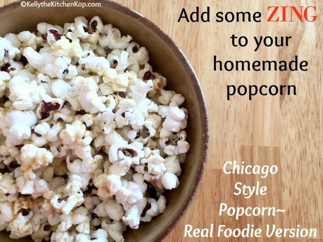 Homemade Chicago Style Popcorn
