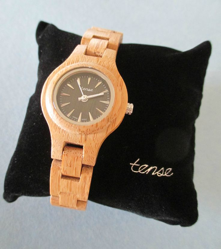 Wooden Watches from Tense Watches.