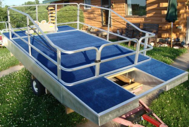 SMALL MIN I6 FT X 12 FT PONTOONS