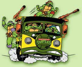 teenage mutant ninja turtles van - Google Search