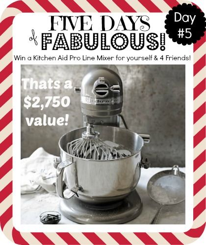 Mix and Match Family: 5 Days of Fabulous: Christmas Cheer & Kitchen Aid Mixers!!