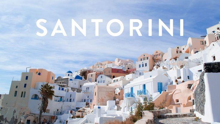 HELLO SANTORINI 😍💖 | Marggie Travels