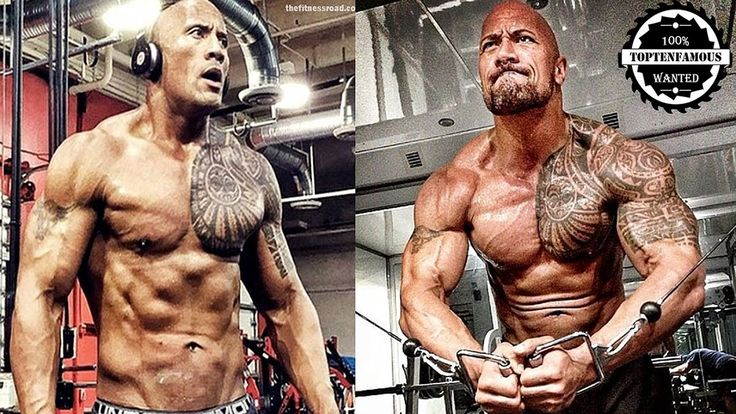 Dwayne Johnson ' The Rock' - From 1 To 44 Years Old