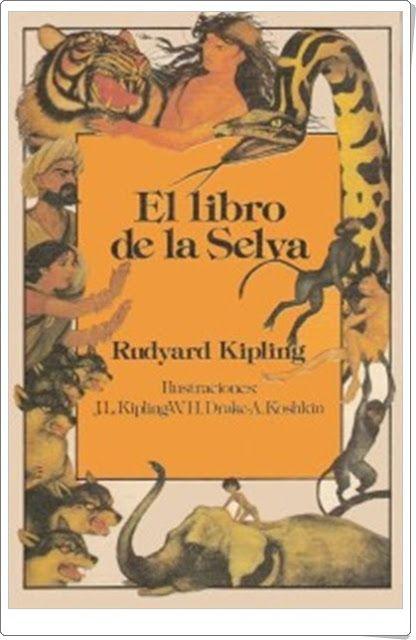 """El libro de la selva"" de Rudyard Kipling"
