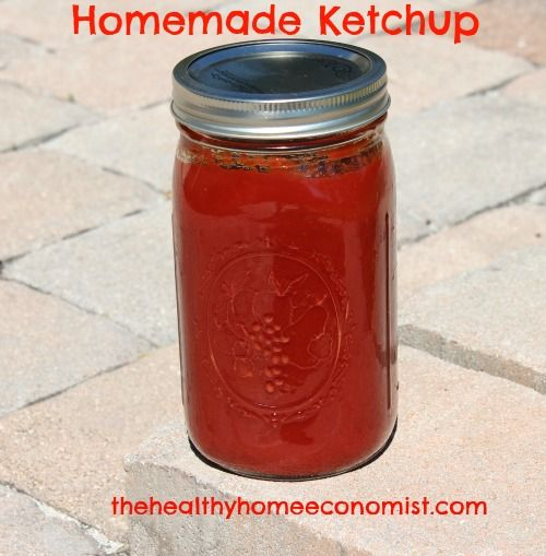 CE Homemade Ketchup Recipe — Dishmaps