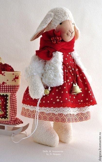 Купить Овечка Глория - овечка, игрушка овечка, игрушка овца, символ 2015 года