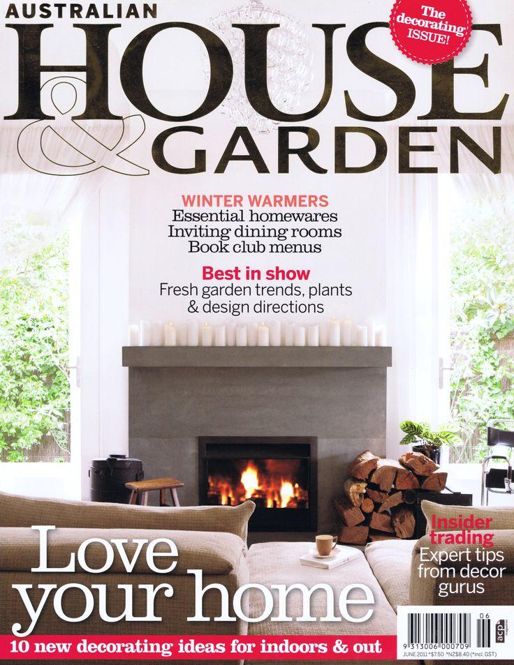 House & Garden June 2011 Cover Brooke Aitken Design