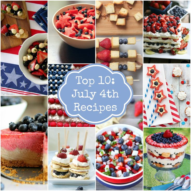 july the 4th food