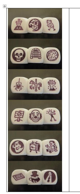 rory's story cubes - spanning